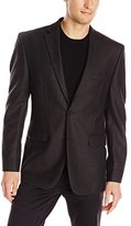 Vince Camuto Men's Brown Houndstooth-Check Sport Coat