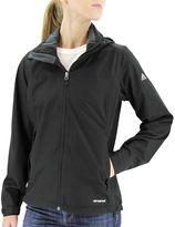 adidas Women's Outdoor Prime Climaproof Hooded Rain Jacket