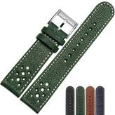 MSTRE NP65/22mm Calfskin Leather Watch Band Suitable For Men's Citizen Watches