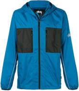 Stussy zipped hooded jacket