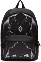 Marcelo Burlon County of Milan Black Telgo Backpack
