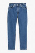 Thumbnail for your product : Monki Kimomo medium blue jeans