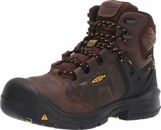 "Keen Men's Dover 6"" Waterproof Composite Toe Work Boots for Construction Landscaping Maintenance Transportation and Utilities"