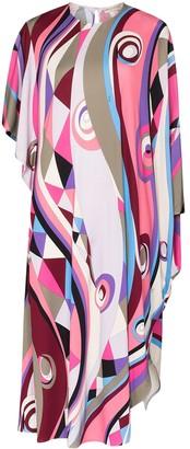 Emilio Pucci Occhi print midi dress