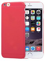 iPhone 6S Plus Case, Lookatool® for iPhone 6S Plus Matte Polypropylene Hard Case Cover Skin (Red)