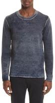 ATM Anthony Thomas Melillo Men's Acid Wash Sweater