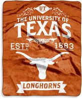 Bed Bath & Beyond University of Texas Raschel Throw