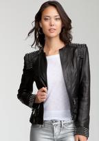 Bebe Studded Leather Jacket