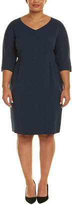 Lafayette 148 New York Plus Alexia Shift Dress
