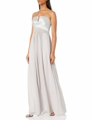 Minuet Women's Strapless V Front Gown