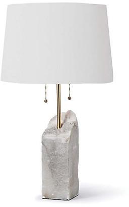 REGINA ANDREW Alabaster Table Lamp - White