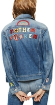 Mother Fucker Patch Denim Jacket