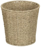 Household Essentials ML-5692 Waste Bin, Seagrass