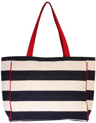 Riah Fashion Striped Shoulder Bag