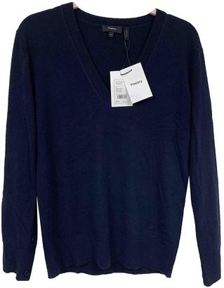 Theory Blue Cashmere Knitwear