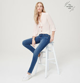 LOFT Modern Sateen Skinny Jeans in Authentic Indigo Wash