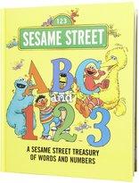 Sesame Street Abc & 123: A Treasury (Board Book)