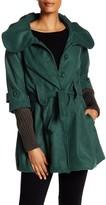 Luma Belted Babydoll Coat