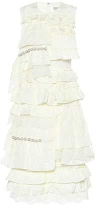 Simone Rocha Moncler Genius 4 MONCLER ruffled dress