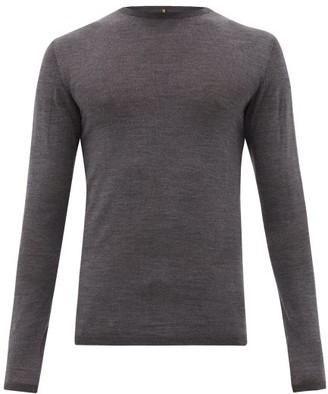 Iffley Road Dartmoor Merino Wool Top - Grey