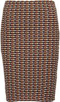 Opening Ceremony Check jacquard-knit mini skirt