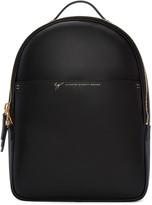Giuseppe Zanotti Black Leather Backpack