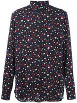 Saint Laurent star print shirt
