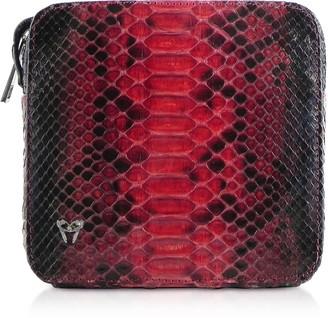 Ghibli Python Leather Camera Bag