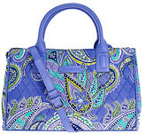 Vera Bradley As Is Signature Print Compartment Satchel