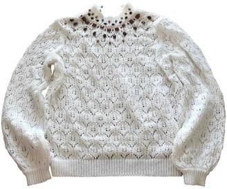 Sézane Sezane Spring Summer 2019 White Cotton Knitwear for Women