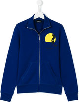 DSQUARED2 zip-up sweatshirt - kids - Cotton - 14 yrs