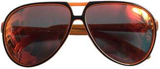 Lacoste Orange Plastic Sunglasses