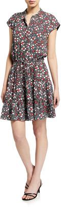 Rebecca Minkoff Ollie Floral-Print Dress