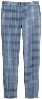 Banana Republic Avery Straight-Fit Linen-Cotton Pant