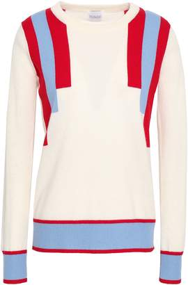 Madeleine Thompson Striped Wool And Cashmere-blend Sweater