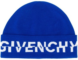 Givenchy Off-Set Logo Beanie