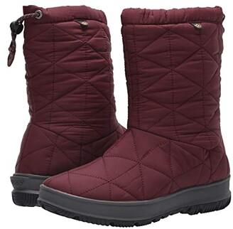Bogs Snowday Mid (Black) Women's Rain Boots