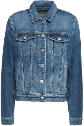 7 For All Mankind Faded Denim Jacket