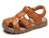 DADAWEN Boys Girls Closed Toe Outdoor Sandal (Baby boy/Toddler/Little Kid/Big Kid)- 9.5 US