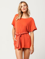 Free People Easy Street Womens Romper