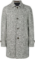 Eleventy classic buttoned coat - men - Polyethylene/Acetate/Virgin Wool - 48