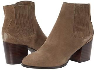 Blondo Sabina Waterproof Bootie (Black Suede) Women's Boots