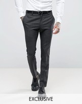 Religion Skinny Suit Pants In Check