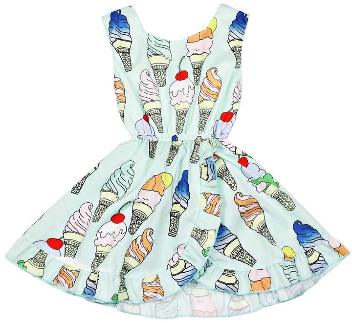 Funkyberry Ice Cream Cotton Dress