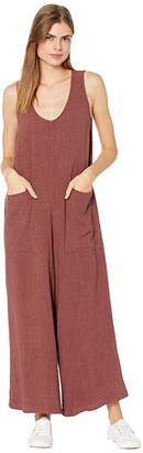 Rachel Pally Linen Remy Jumpsuit (Brick) Women's Jumpsuit & Rompers One Piece