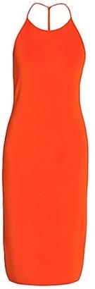 Bottega Veneta Sleeveless Halterneck Dress