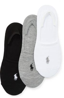 Ralph Lauren Sneaker Liner Sock 3-Pack