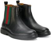 Gucci Kids Web trim boots