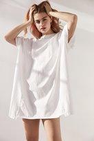 Silence & Noise Silence + Noise Oversized Drop Shoulder T-Shirt Dress
