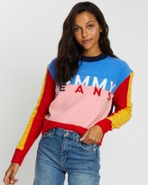 Tommy Jeans Multicolour Logo Sweater